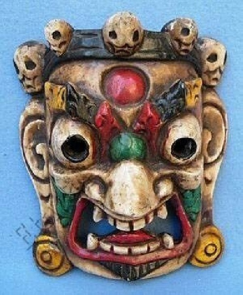 DECORATIVE MASKS MAS-LE02-4 - Oriente Import S.r.l.