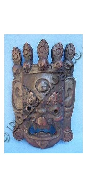 DECORATIVE MASKS MAS-LE03-4 - Oriente Import S.r.l.