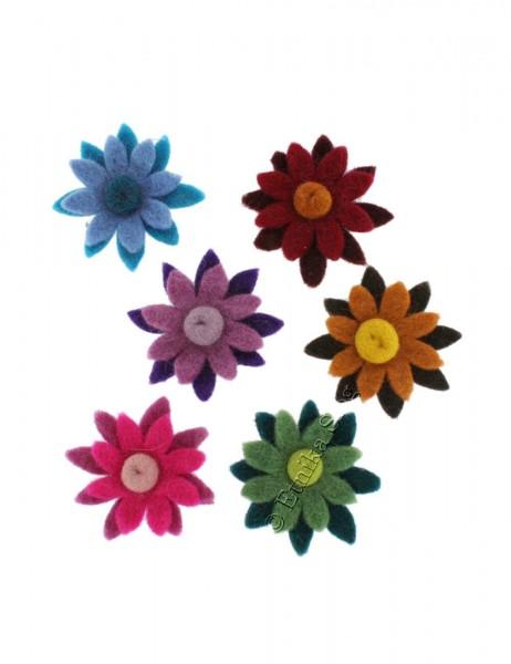 FLOWERS IN FELT LC-FI05 - Oriente Import S.r.l.