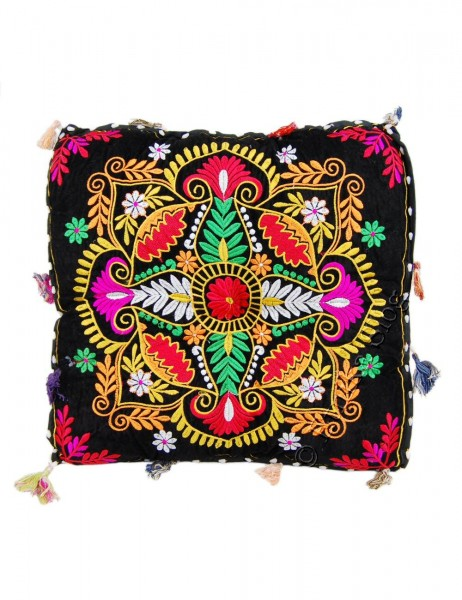 INDIAN PILLOWS POUF CS-INM12-02 - Oriente Import S.r.l.