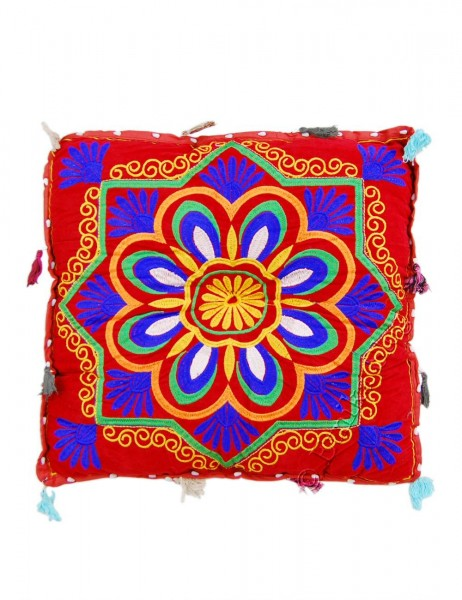 INDIAN PILLOWS POUF CS-INM12-01 - Oriente Import S.r.l.