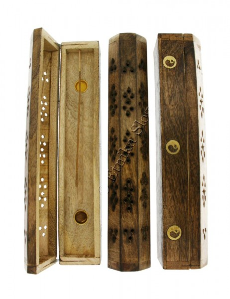 INCENSE HOLDERS WOODEN BOX PI-BG03-04 - Oriente Import S.r.l.