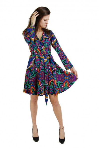 -20% DRESSES - SHORT SLEEVES - SLEEVELESS - AUTUMN/WINTER AB-MIWV13-02 - Oriente Import S.r.l.