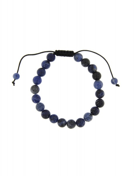 STONE BRACELET OF 8 - 10 mm - WITH TWINE PD-BR18-05 - com Etnika Slog d.o.o.