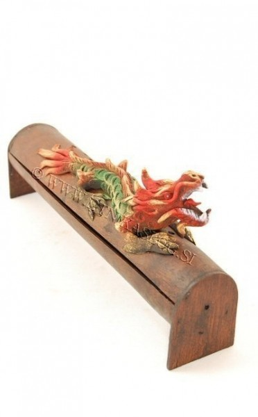 INCENSE HOLDER FROM BAMBOO AND RESIN PI-THL04A-VE - Oriente Import S.r.l.