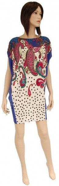 SUMMER JERSEY DRESSES WITH SHORT SLEEVES AB-MRS284BR - Oriente Import S.r.l.