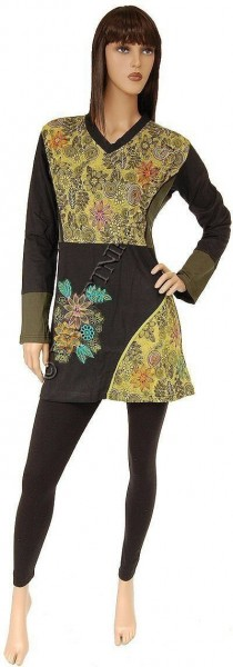 DRESSES COTTON LONG SLEEVE AB-WWV06-VM - Oriente Import S.r.l.