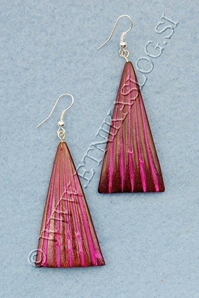 WOODEN EARRINGS LE-ORC05 - Oriente Import S.r.l.