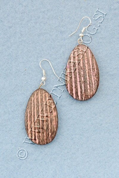 WOODEN EARRINGS LE-ORC10 - Oriente Import S.r.l.