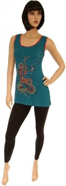 TANK TOPS WITH EMBROIDERY AB-BST08-VP - Oriente Import S.r.l.