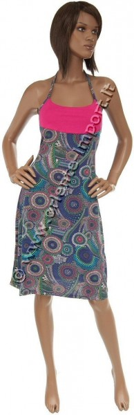 SUMMER SLEEVELESS JERSEY DRESSES AB-BDS03A - Oriente Import S.r.l.