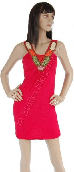 UNICOLOR JERSEY SUMMER DRESSES AB-MRS250TU - Oriente Import S.r.l.