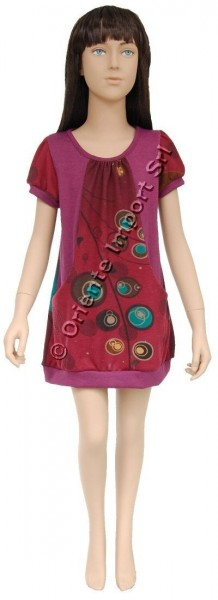 JERSEY KID'S DRESSES AB-CD040AF - Oriente Import S.r.l.