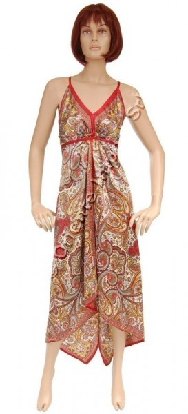 DRESS - SILK AB-AJV13-A - Oriente Import S.r.l.