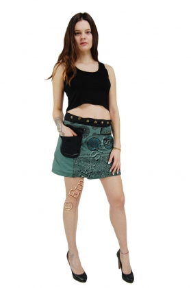 -10% MINI SKIRTS WITH BUM BAGS