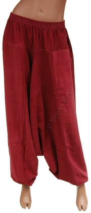 -15% VELVET AND LINED TROUSERS