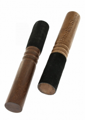 STICKS AND CUSHIONS FOR TIBETAN BOWLS AND GONGS