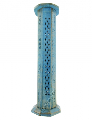 INCENSE HOLDER - WOODEN PILLAR