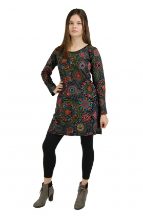 -10% COTTON DRESSES - LONG SLEEVES