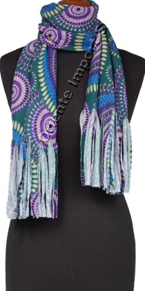 SCARFS IN FABRIC WITH ELASTAN