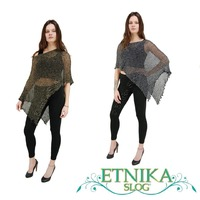 Dear ladies, have you seen our special poncetto with lurex thread? Now available in new colors ☺️ You can choose between two models, with gold or silver thread, combined with different colors! Of course, as our unicolor poncetto also this one can be worn in many different ways 🤩 #etnika #etnikaslog #ponco #ponchostyle #poncetto #onlineshopping #onlineshop #lurex #lurexdress #summeroutfit #summer