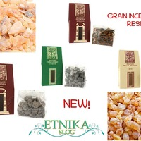 Nekaj novega pri Etniki, kadilna smola, kadilo v zrnih. Qualcosa di nuovo da Etnika, incenso in grani/resina. #grainincense #frankincense #frankincenseresin #incenses #resin #kadilo #kadilnabosvelija #boswelliasacra